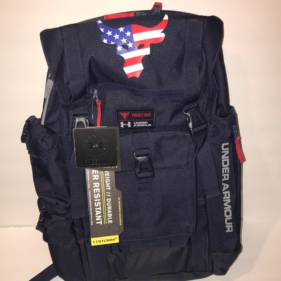 9aac7407ec3a Project rock under armour backpack